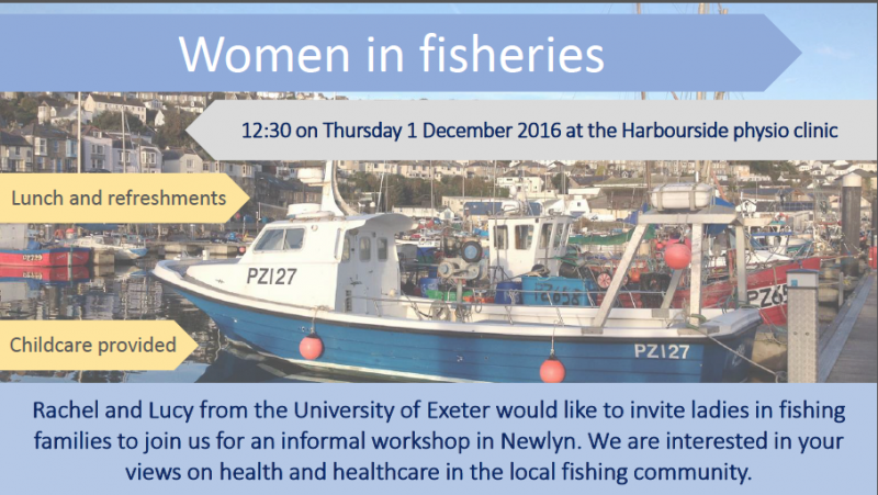 women in fisheries event