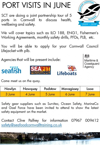safety » Seafood Cornwall Training