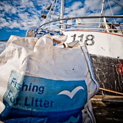 FISHING FOR LITTER